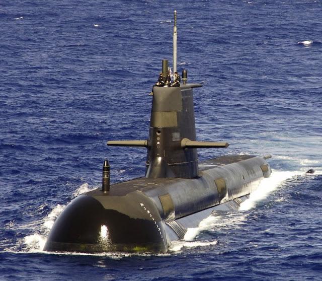 Kapal Selam Collin Class Australia