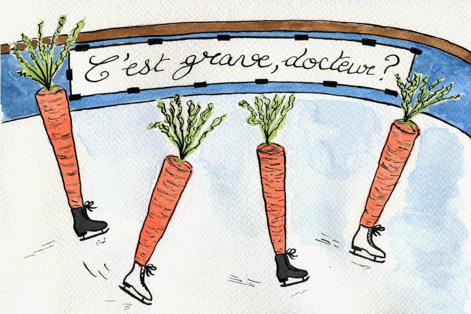 La patinoire des carottes ou comment commencer l'année du bon pied