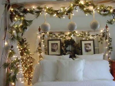 Christmas Bedroom Light Ideas