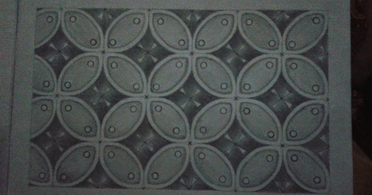 Ragam Hias Geometris: Gambar Ragam Hias Geometris dengan ...