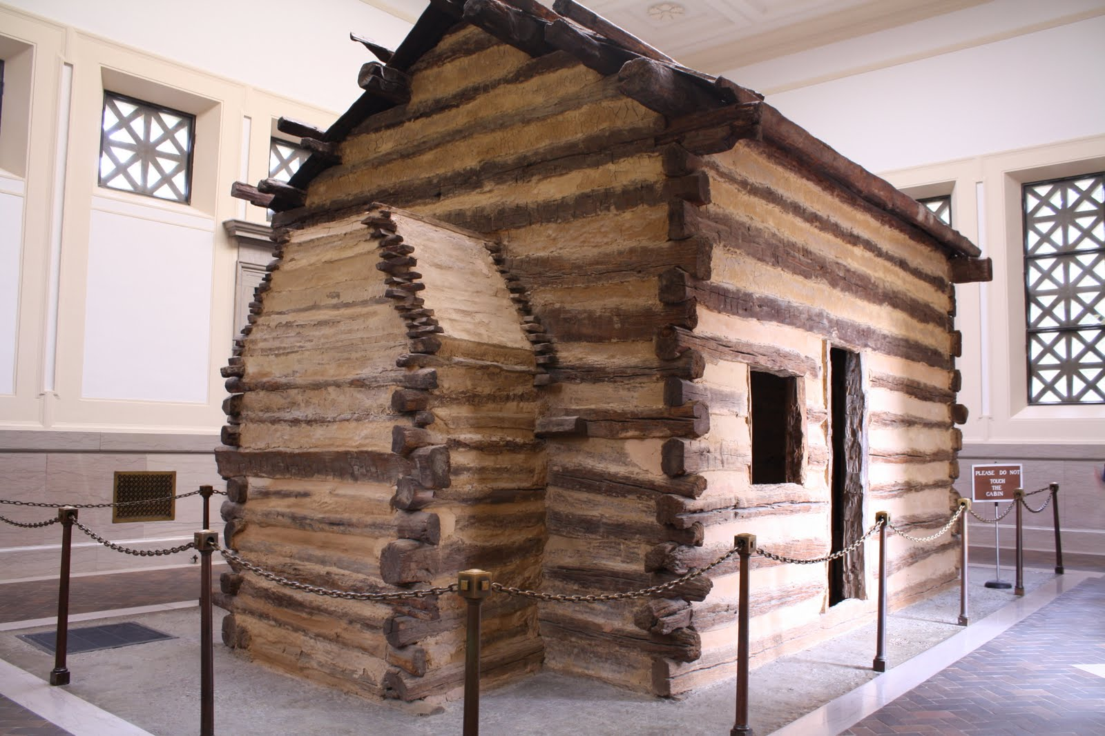 Superb img of The birthplace cabin of Abraham Lincoln is a fake. We didn't know it  with #855B46 color and 1600x1067 pixels