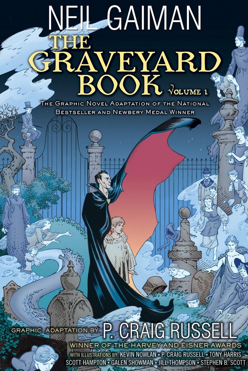 el libro del cementerio, neil gaiman, silas, nadie owens, literatura, libro, recomendado, reseña, opinion, comic, novela grafica