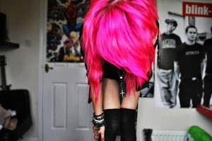 Pink is punk.