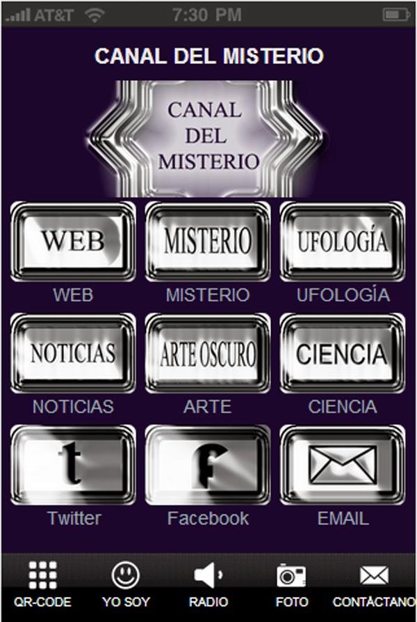 APP DE CANAL DEL MISTERIO