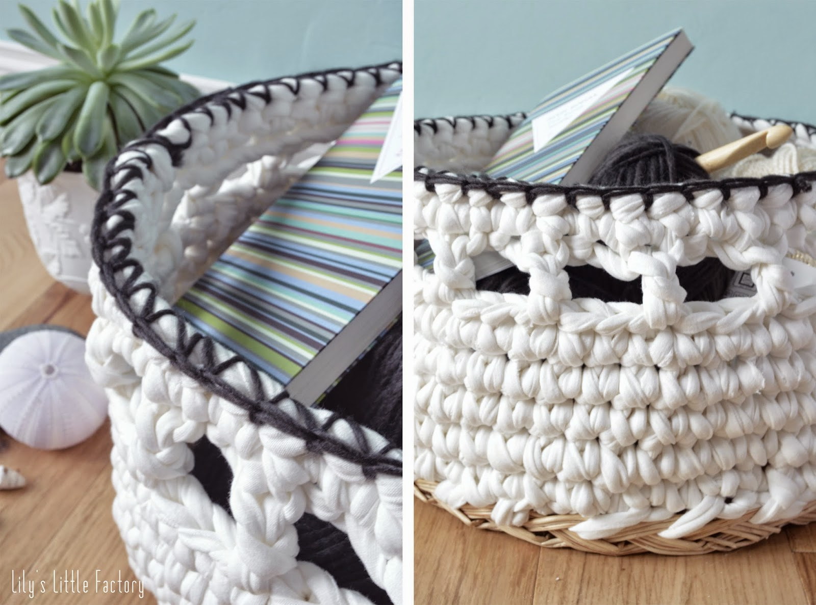 une pani re en trapilho et osier r cup 39 lily 39 s little factory blog diy bretagne. Black Bedroom Furniture Sets. Home Design Ideas