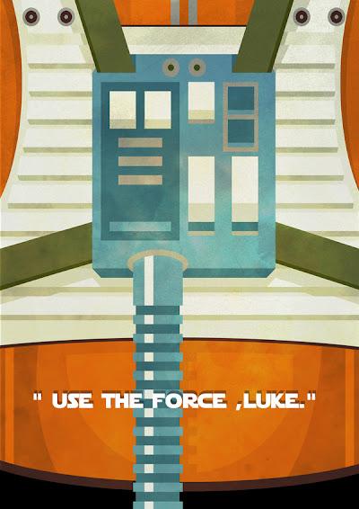 Star Wars Minimalista - Luke Skywalker