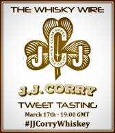 JJ Corry St Patrick's Day Tweet Tasting