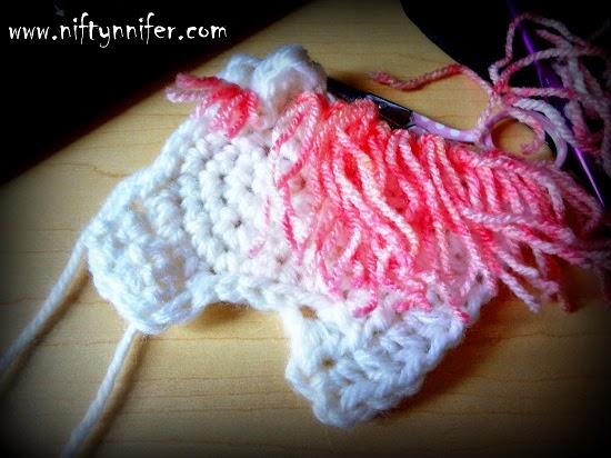 Niftynnifers Crochet Crafts Free Crochet Horse Head Motif