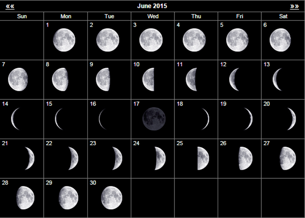 mondkalender juni 2015