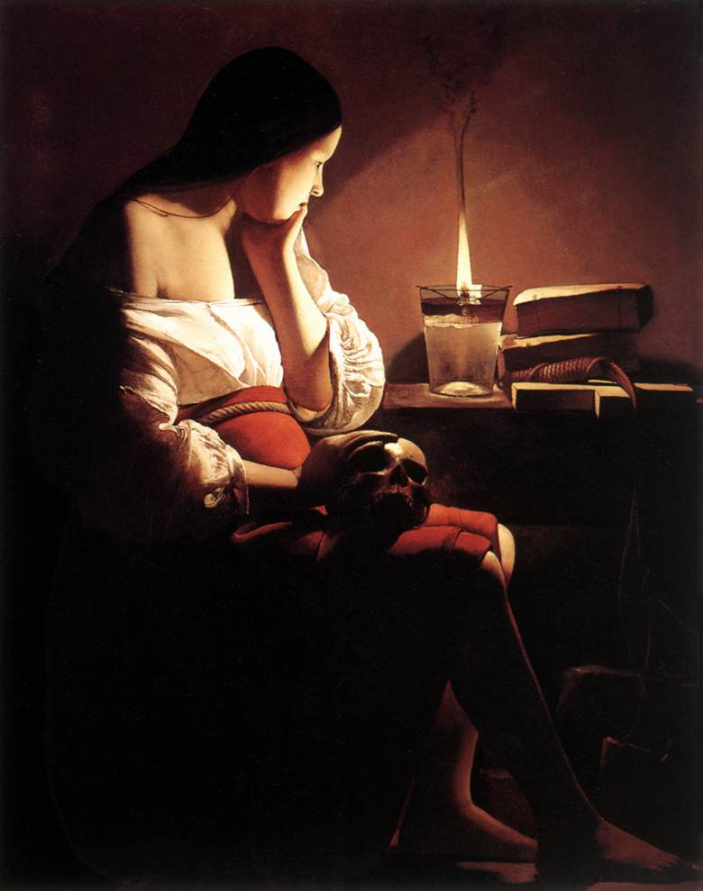 Magdalena with the Smoking Flame, ca. 1640