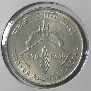 nepal fao 10rs 1968
