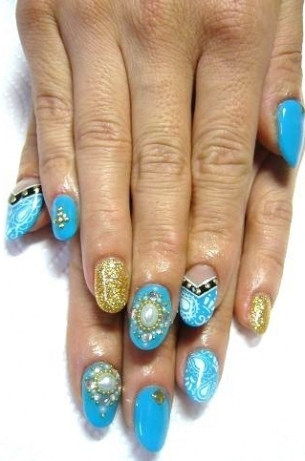 DIY-Nail-Art-Ideas-for-Fall-2012-1