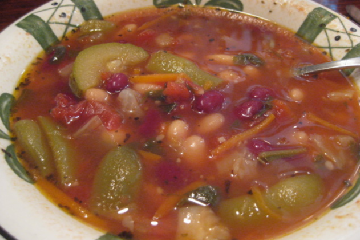 Olive garden minestrone nutrition facts
