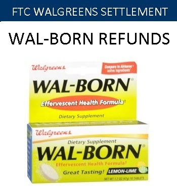 Claim Walgreens Wal-Born Settlement on WalgreensRedressProgram.com