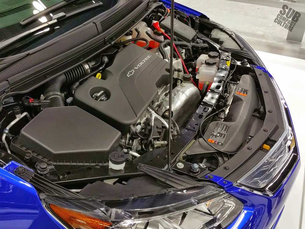 2016 Chevrolet Volt Engine Bay
