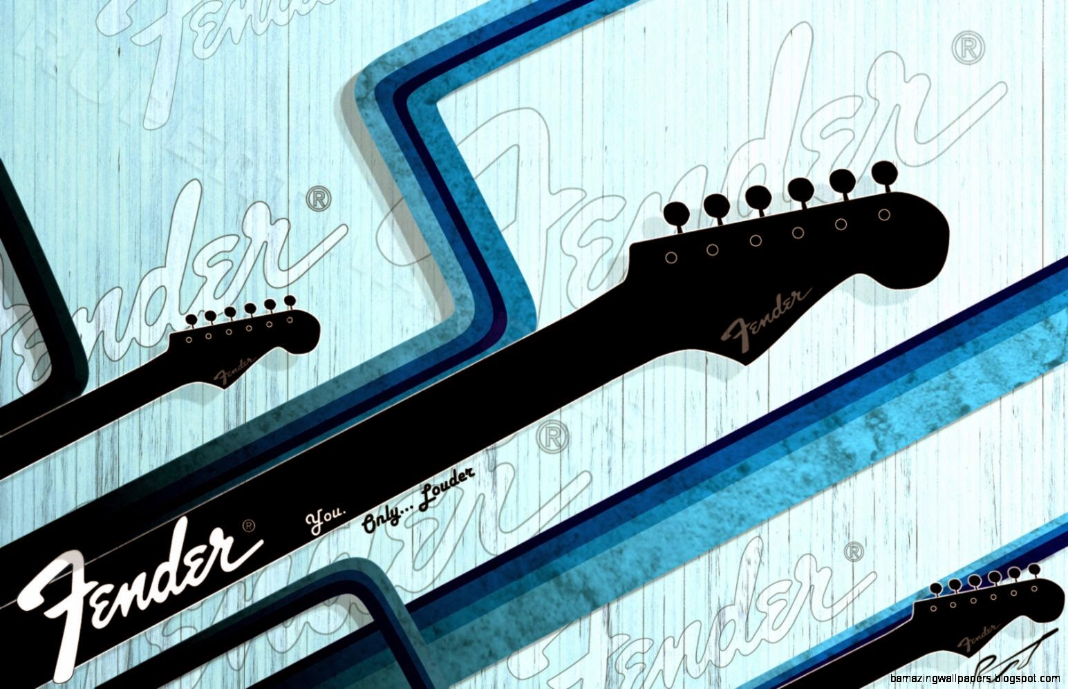 Fender Graphic art Wallpaper by RupertWarries on DeviantArt