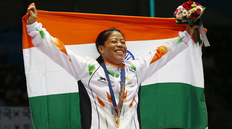 Asian Games 2014 : MC Mary Kom won First Gold Medal