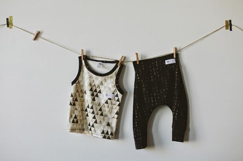Handmade children's garments by Kindred OAK SS14 kidswear collection