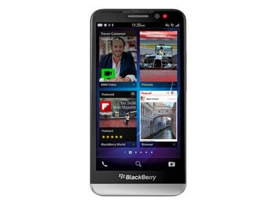 screenshot on Blackberry Z30