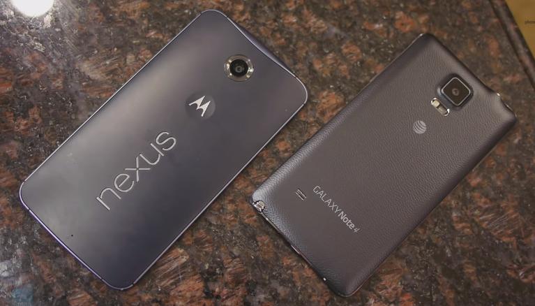 Perbandingan Smartphone Google Nexus 6 Terbaru VS Samsung Galaxy Note 4 Terbaru