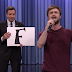 "Daniel Radcliffe canta ""Alphabet Aerobics"" no The Tonight Show"