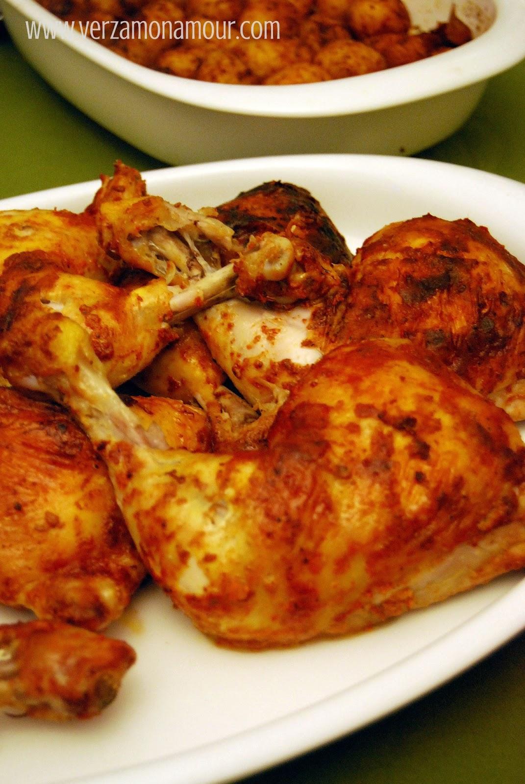 Tandoori roast chicken ricette di cucina le ricette di for Ricette di cucina