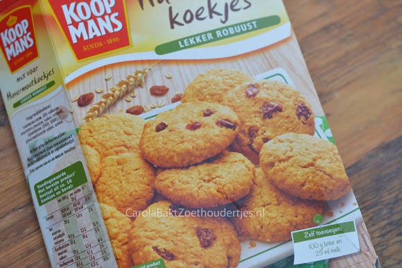 Havermoutkoekjes bakken met Koopmans
