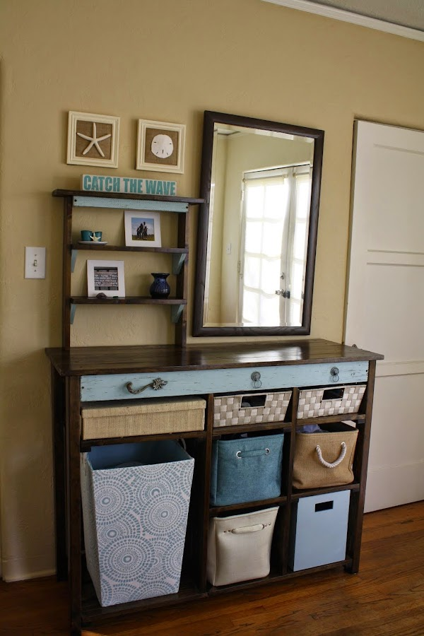 Custom Bedroom Storage - Accent Table