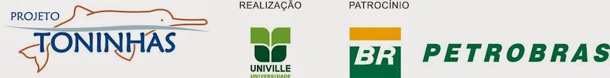 O Projeto Toninhas é patrocinado pela Petrobras,por meio do Programa Petrobras Ambiental.