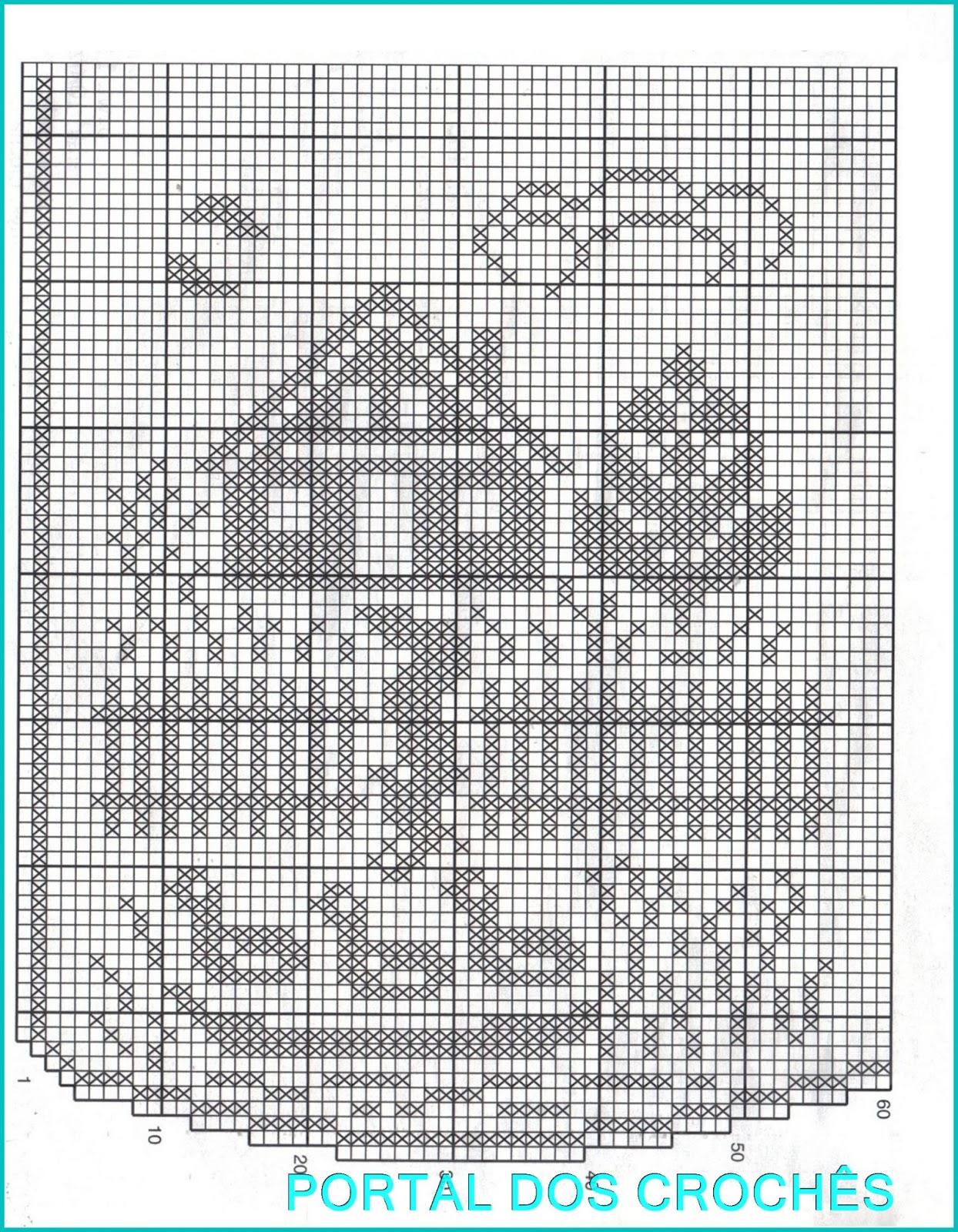 Схемы филейного вязание крючком 68