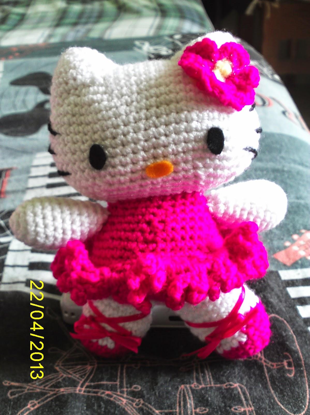 Tejidos en crochet ...: Trabajo - Hello Kitty Amigurumi