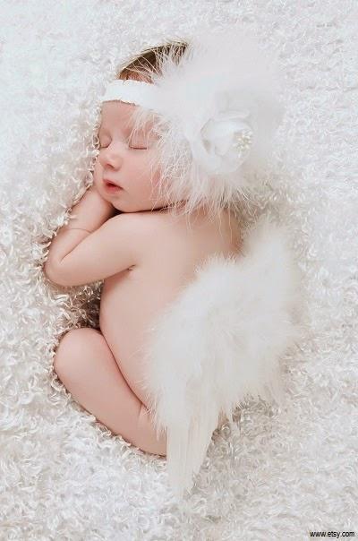 Images bébé fille ange