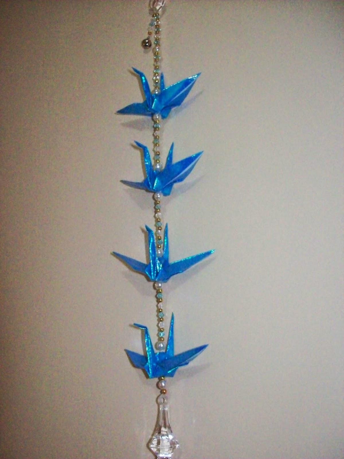 Tsurus azuis