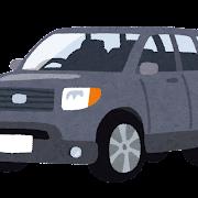 SUVのイラスト(車)