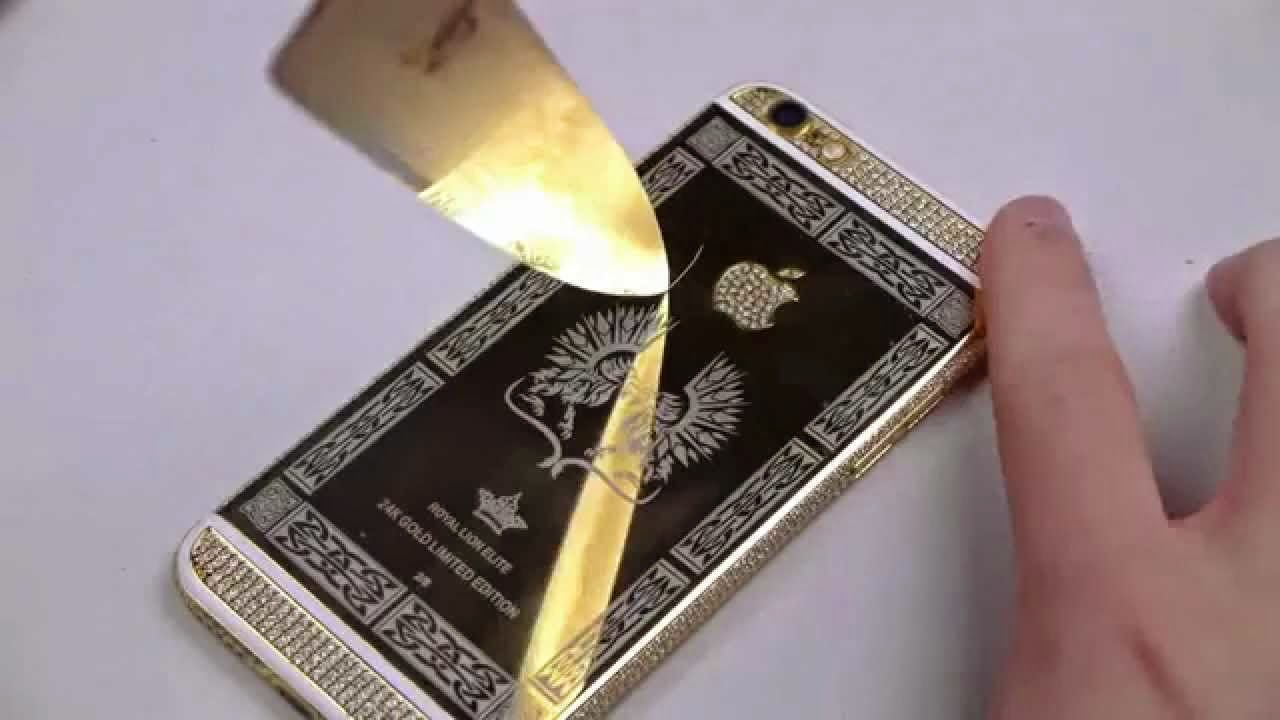 Scratching a 24k Gold iPhone 6!!
