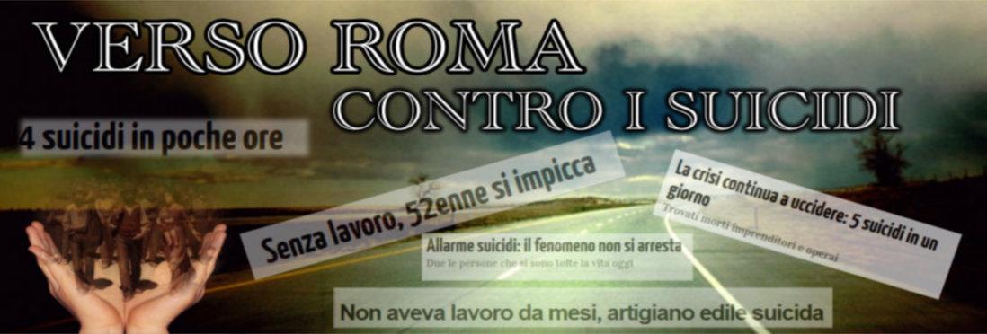 Verso Roma contro i suicidi