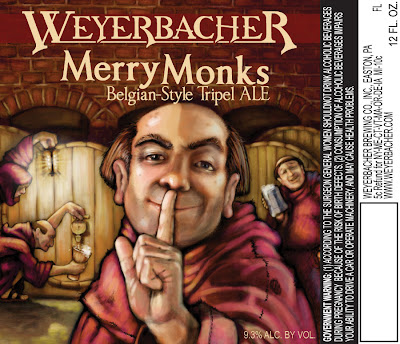 Weyerbacher Merry Monks label