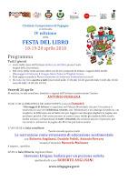 PROGRAMMA della IV ediz.della FESTA DEL LIBRO