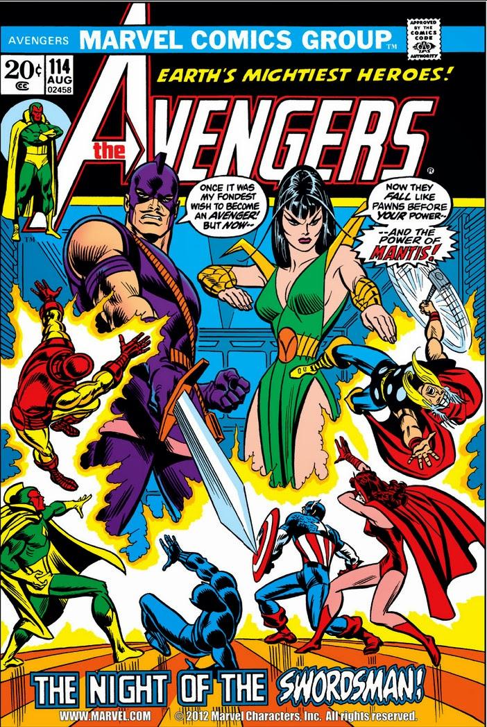 Avengers 114 Cover