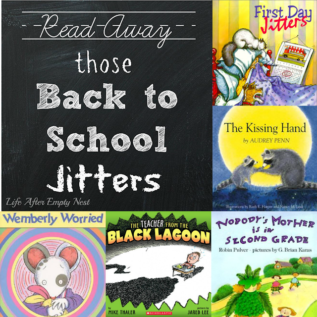 Read Away those Back to School Jitters! Five book recommendations to help ease new school year fears..