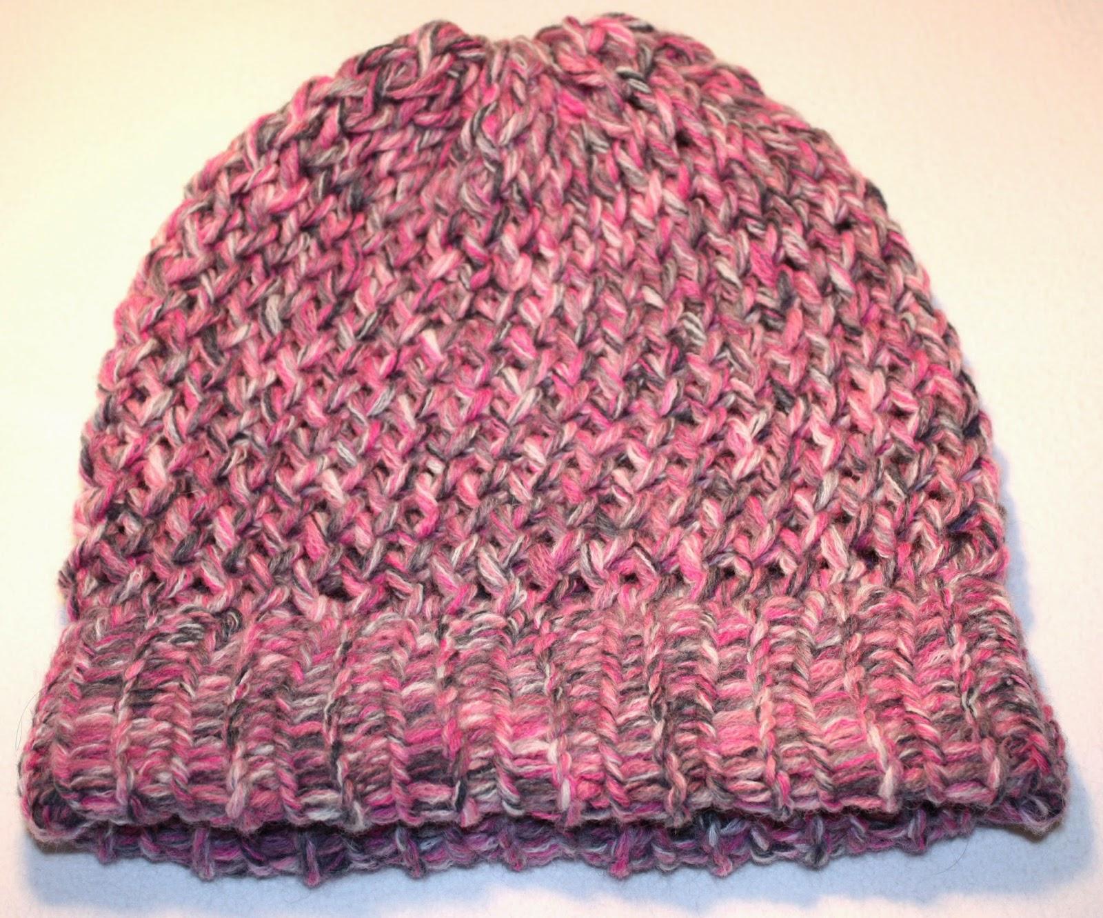 breiring; muts; breien; breipatroon; patroon; achtjesstee; boordsteek; knifty knitter; knitting loom;