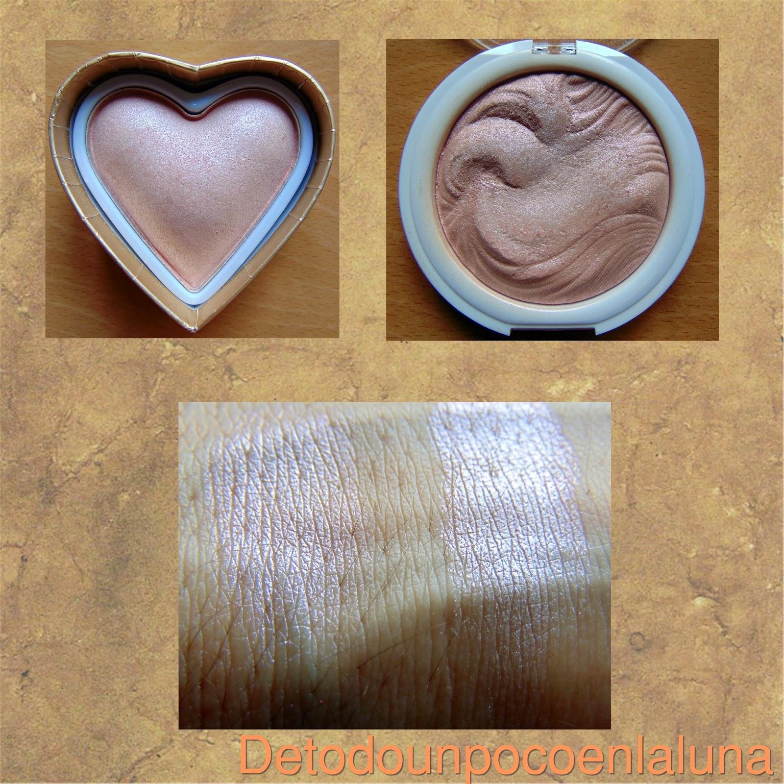 comparación goddess of love y undress your skin mua i heart makeup