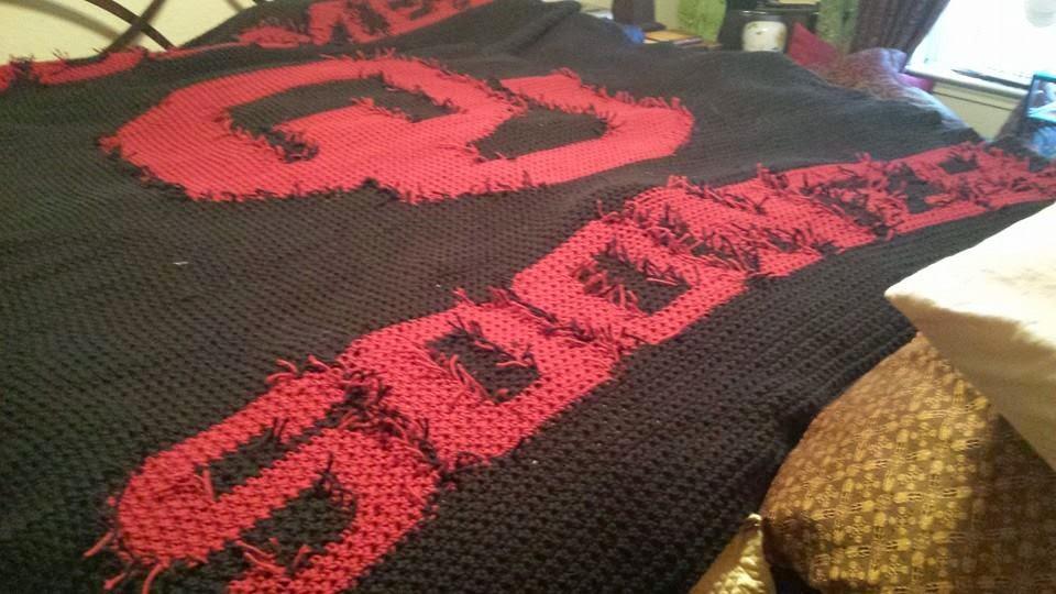 Crochet Adventures!: OU Afghan