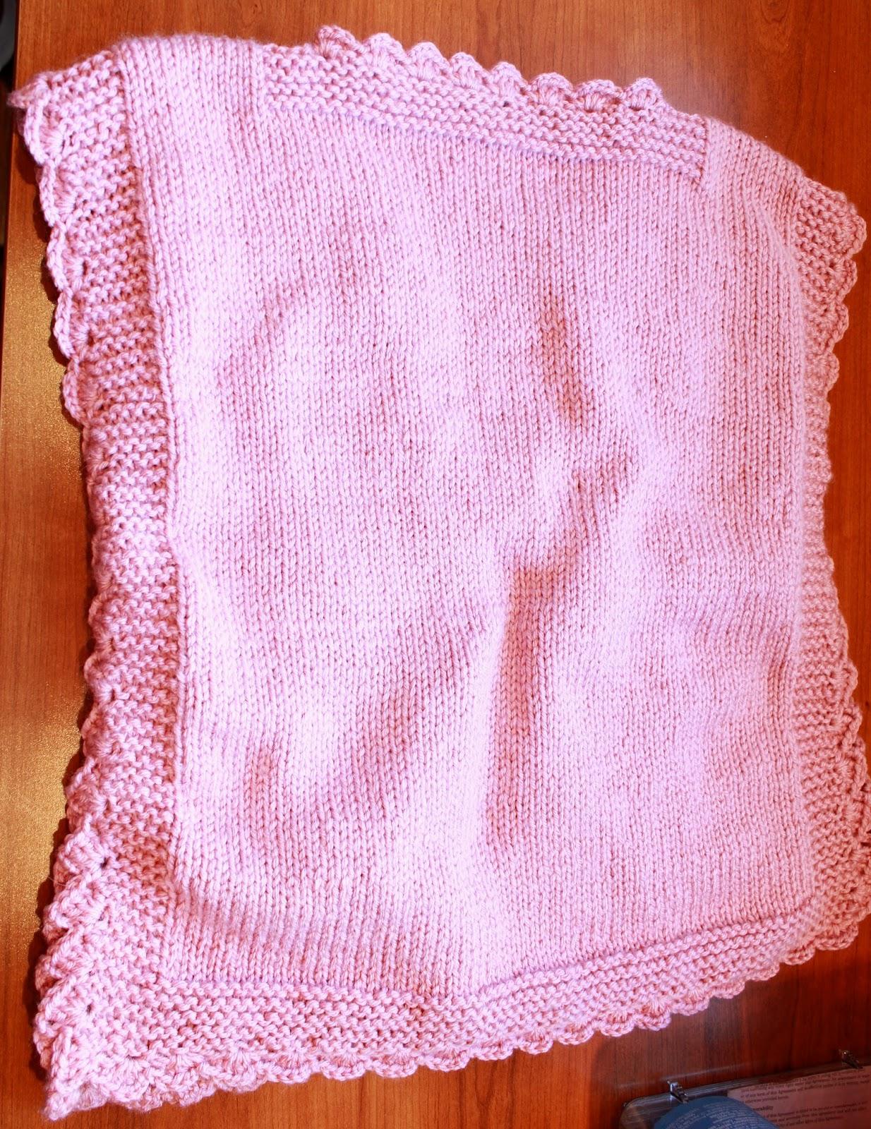 Funky Girls Handmade Shop: Knit Pink Integrated Vandyke ...