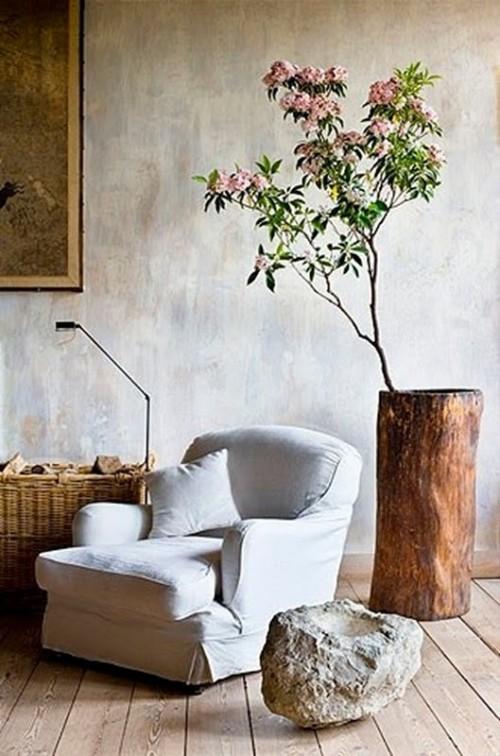 Decoraci n de la casa con troncos de madera decoracio nesdotcom - Tronco madera decoracion ...
