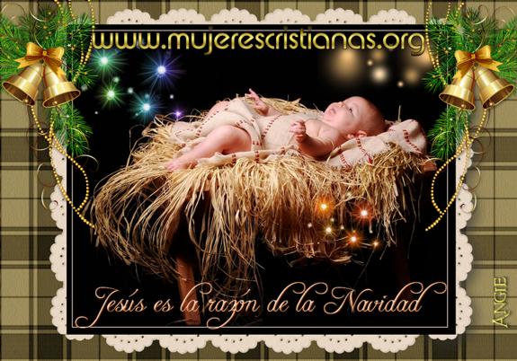 Jesús es la razón de la navidad