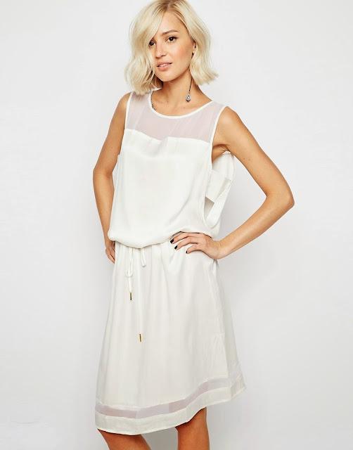 gestuz white dress