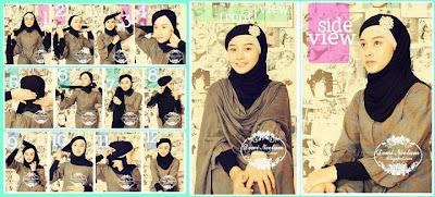 cara memakai jilbab, cara memakai jilbab pashmina,