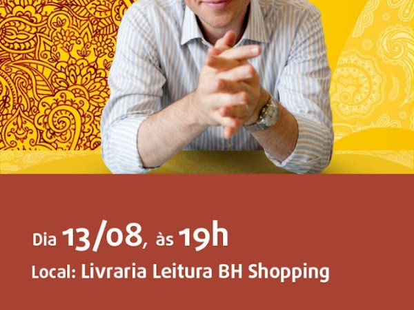 Editora Novo Conceito e Livraria Leitura realizam evento com Corban Addison em Belo Horizonte