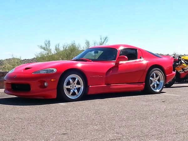 1997 Dodge Viper GTS $39,900